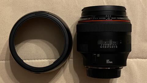 CANON EF 85 mm L II USM f 1.2