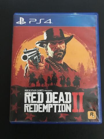 Red Dead Redemption 2 BD PS4 Reg. Asia