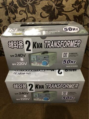 stabilizer stavol merk transformer 2kva made in korea kondisi baru