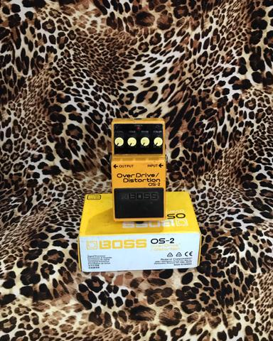 BOSS OS2 Overdrive Distortion Pedal