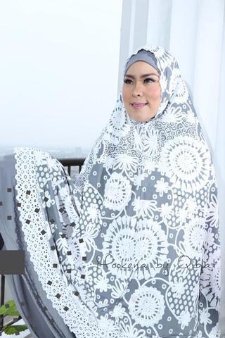 mukena cantik kado unik kado cantik kado idul fitri kado ramadhan mukena jersey