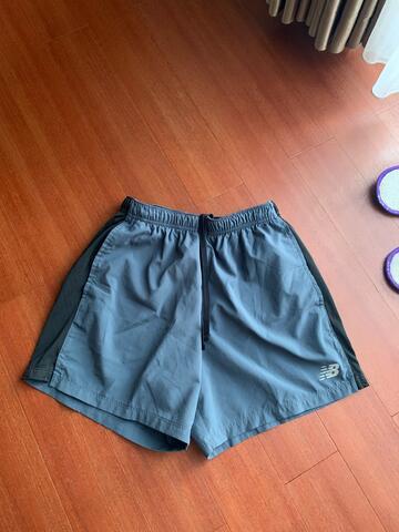 Celana pendek gym pria New Balance 2nd 100% original