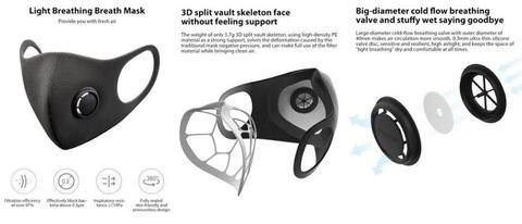 xiaomi smartmi mask KN95 masker original ready stock