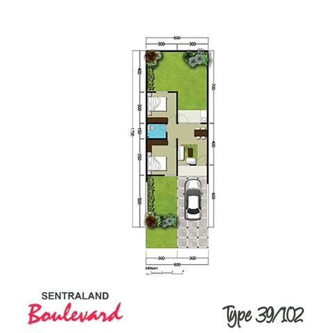 jual/over kredit perumahan sentraland boulevard blokH16