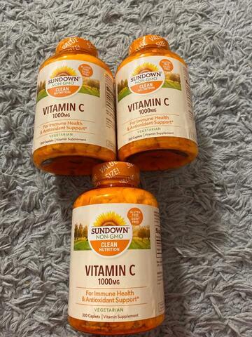 Sundown Vitamin C 1.000mg (300 Tablets)