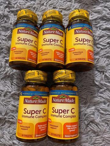 Nature Made Super C Immune Complex (60 Tablets)