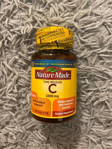 Nature Made Time Release C 1.000mg Rose Hips (60 Tablets)