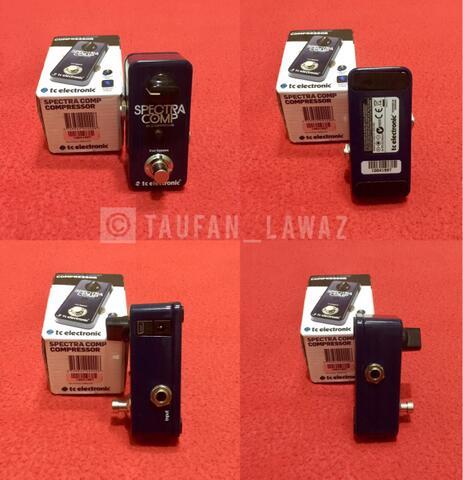 Spectra Comp Tc Electronic Bass Compressor