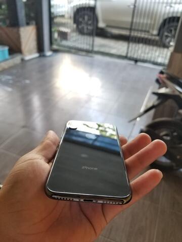 IPHONE X 256GB SPACE GRAY EX GARANSI iBOK
