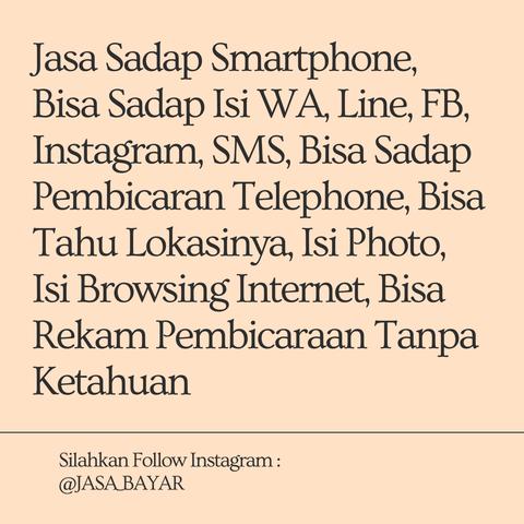 JASA SADAP ISI HP/SMARTPHONE PASANGAN, ANAK, PACAR DAN ORANG TERCINTANYA.