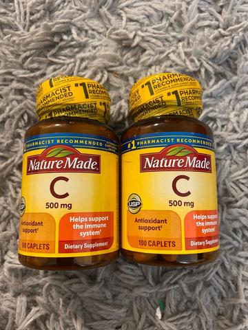 Nature Made C 500mg (100 Tablets)