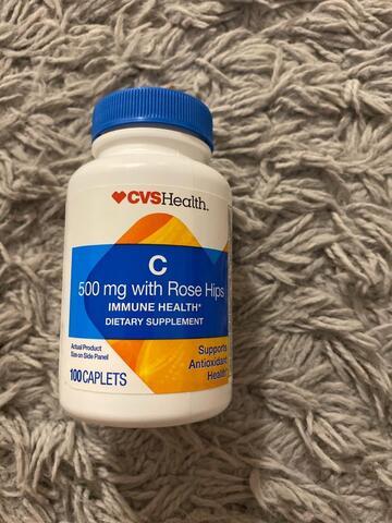 CVS Health C 500mg Rose Hips (100 Tablets)