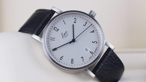 LACO BERLIN CLASSIC AUTOMATIC SILVER DIAL STEEL 40MM