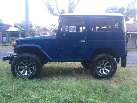 Hardtop Fj40 2F 1981 Blue