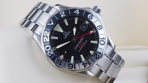 OMEGA SEAMASTER DIVER 300M AUTOMATIC GMT 50th ANNIVERSARY 41MM