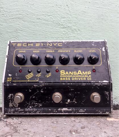 SansAmp programmable