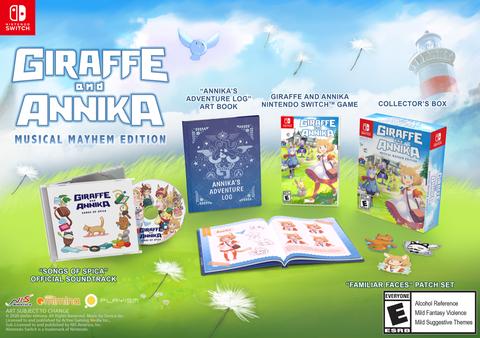 PO Import - Giraffe and Annika Musical Mayhem Edition (Switch)