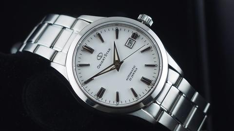 ORIENT STAR CLASSIC COLLECTION AUTOMATIC WHITE DIAL STEEL JDM 39MM