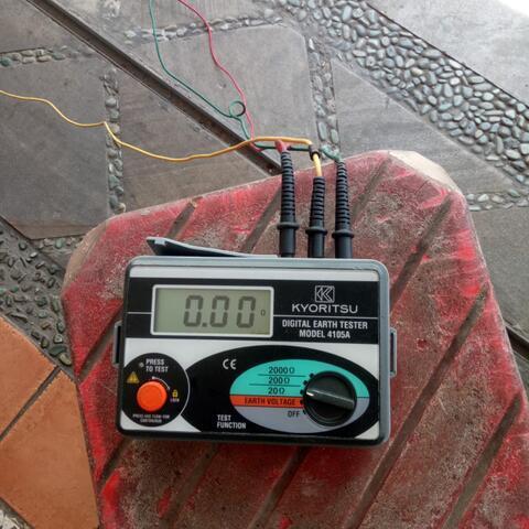 Dijual Kyoritsu 4105A Digital Earth Tester