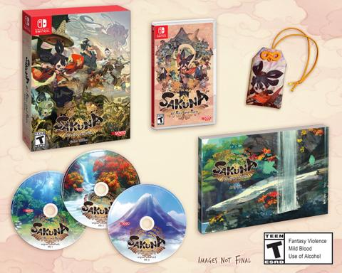 Preorder (DP) - Sakuna : Of Rice and Ruin Divine Edition (Switch)