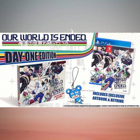 PO Ready Import - Our World Is Ended Day 1 Edition (PS4 & Switch)