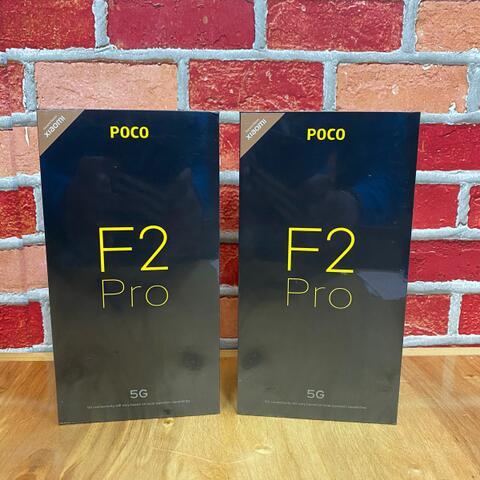 Pocophone F2 Pro 6/128GB SD 865 Purple Gray Garansi resmi Tam