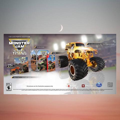 PO Import - Monster Jam Steel Titans Collector's Edition (Switch)