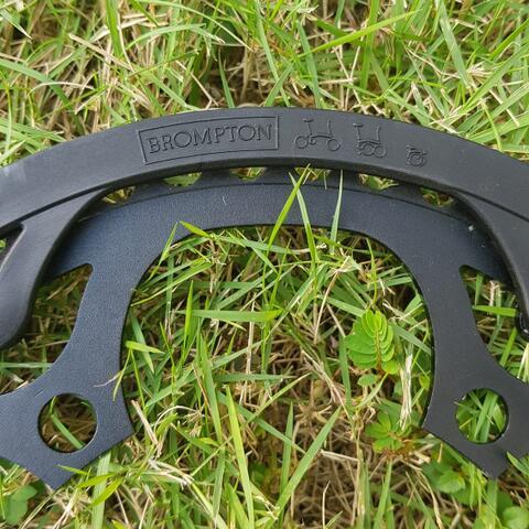 Chainring 50T Brompton Black Editon Original