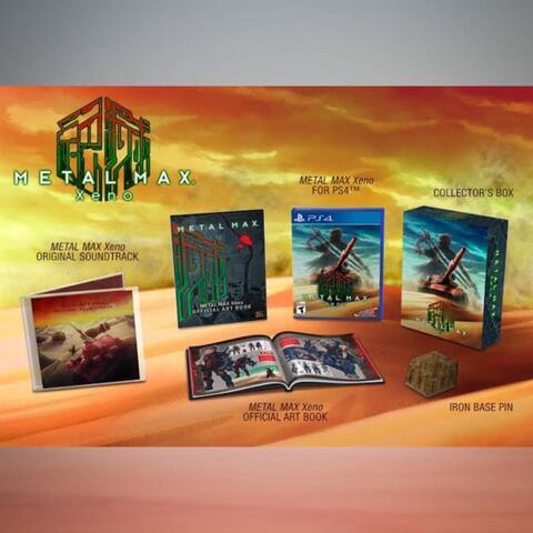 PO Ready Import - Metal Max Xeno Limited Edition (PS4)