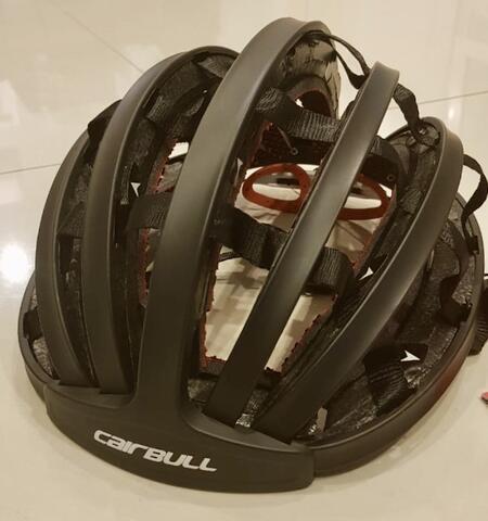 Carbull Folded Helmet