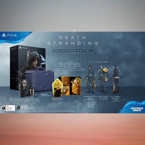 PO Ready Import - Death Stranding Collector's Edition (PS4)