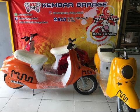 motor mini scooter electric 250 watt
