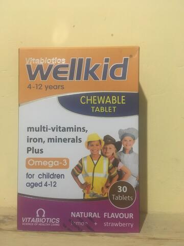 Wellkid Vitabiotics