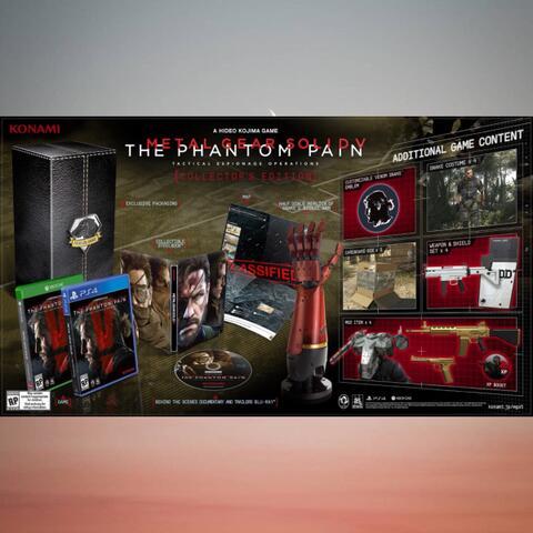 PO Ready Import - Metal Gear Solid V : The Phantom Pain CE (PS4)