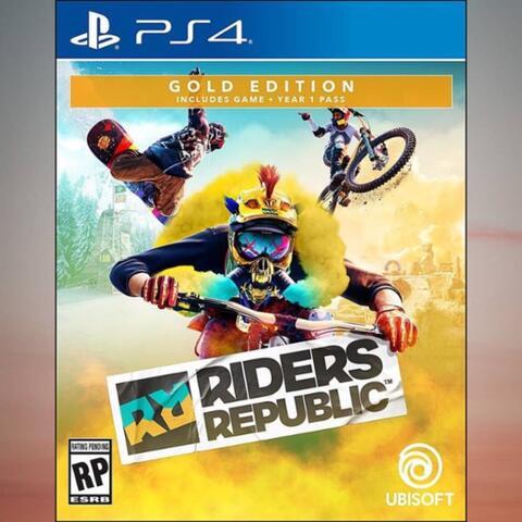 Preorder (DP) - Riders Republic Gold Edition (PS4)