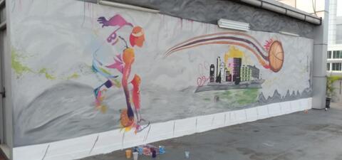 Cat Mural Realistik Sangat Murah Dari Pansalon.