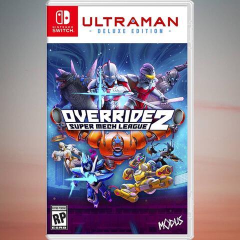 Preorder (DP) - Override 2 : Ultraman Deluxe Edition (Switch)