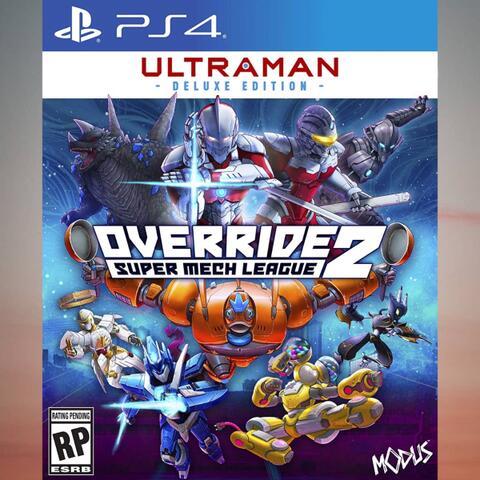 Preorder (DP) - Override 2 : Ultraman Deluxe Edition (PS4)