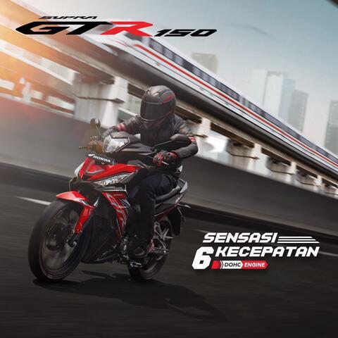 Honda Supra GTR 150 Sporty dan Exclusive