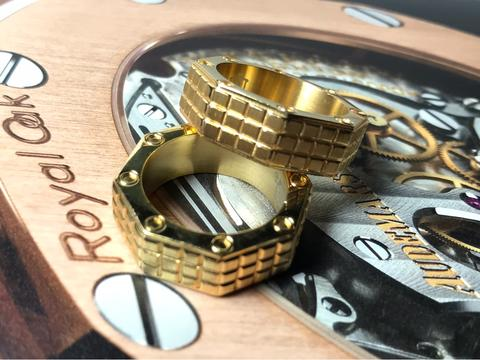 AUDEMARS PIGUET OCTAGON RING MADE IN ITALY