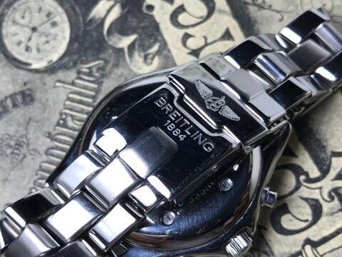 ORIGINAL BREITLING COLT QUARTZ CHRONOGRAPH 38MM
