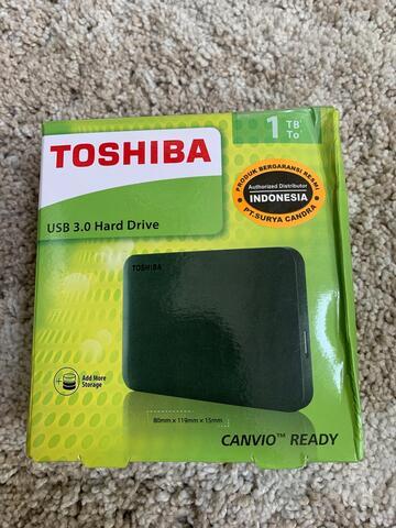 Hardisk external Toshiba canvio basic 1TB