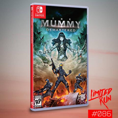 Preorder (DP) - The Mummy Demastered (Switch)