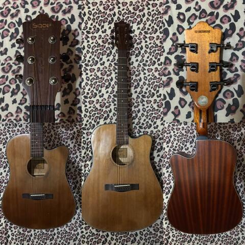 Gitar Akustik Elektrik Sqoe Spain SQ-BC Acoustic Electric