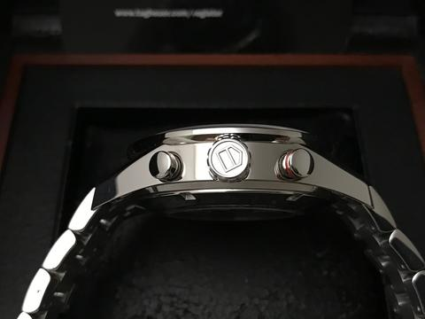 ORIGINAL TAG HEUER CARRERA AUTOMATIC CHRONOGRAPH DAY DATE CAL16 43MM