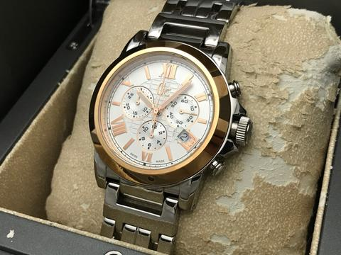 ORIGINAL GUESS COLLECTION CHRONOGRAPH QUARTZ SWISS MADE 43MM