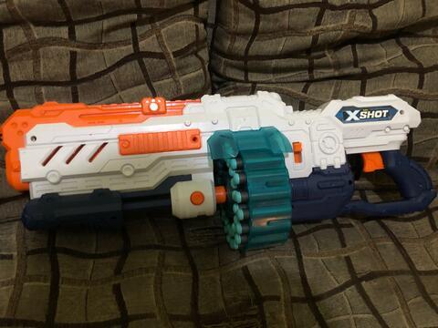 Zuru Xshot / X-shot / X Shot Turbo advance like new
