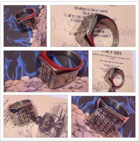 Cincin Amulet Money Wafaq Rajah Penglaris dan Pengasihan