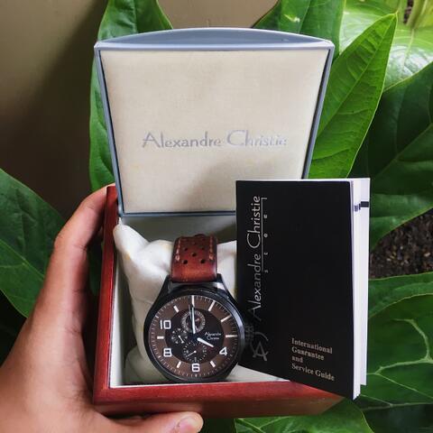 Jam Tangan Pria Alexandre Christie 6279MF Original 100%