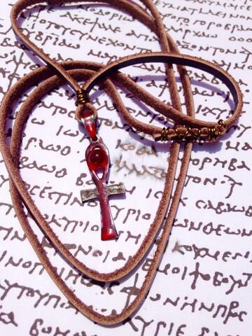 Kalung Gotik Vintage Egiptian Ankh